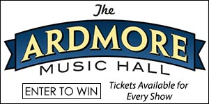 Pair of (2) tickets to Ardmore Music Hall shows