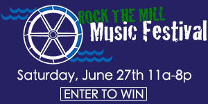 Pair of (2) tickets to Rock The Mill 6/27/15