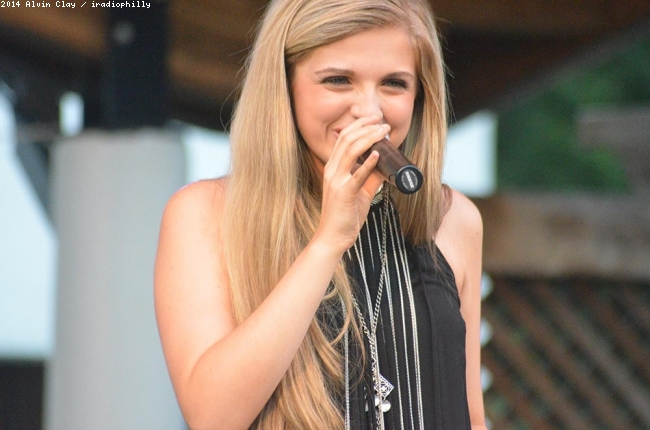 Payton Taylor at Rose Tree Park July 2014