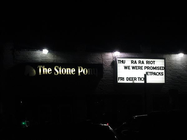 Deer Tick At The Stone Pony, Asbury NJ
