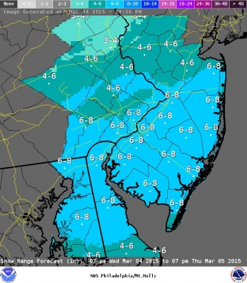 Winter Storm Warning Philadelphia; $100 Million For Schools From City, How?; Jockey Waives Hearing