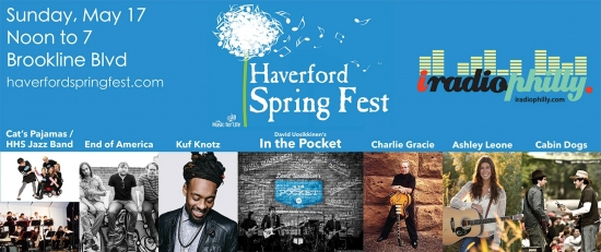 Haverford Spring Fest Announces Final Lineup; David Uosikkinen's In The Pocket to Headline May 17
