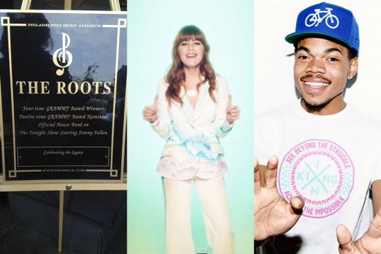 Music News - Music Alliance Inductees to Walk; New Jenny Lewis Video; Free Chance the Rapper Album