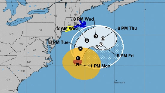 Hurricane Jose off Jersey Shore; Trial Delayed for Sucker Punch Suspect; Methacton Teachers Strike