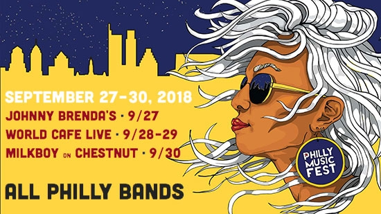 Philadelphia Music and Arts Festival announces All Philly Lineup, 4 Days, 3 Venues, 9/27-30