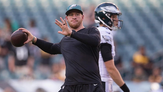 Eagles QB Carson Wentz to Return Week 3; Man Kills Father, Dumps Body; Dover Rape Suspect Wanted