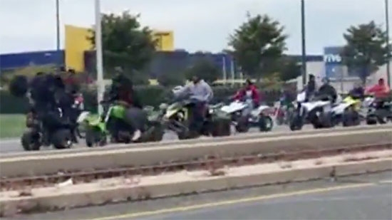 Hundreds of Bikes/ATVs Ride Out for Dirt Bike Rell; Hate Fliers in Cherry Hill; 3 Shot Near Temple