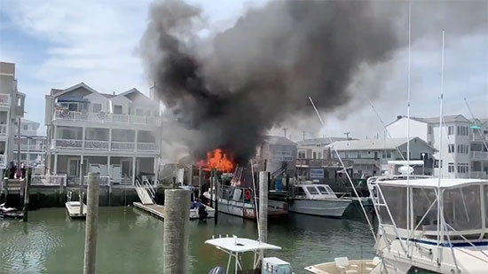 Sea Isle Marina Fire Contained; Woman Shot/Killed in Deli; Man Shot 18 Times in East Germantown