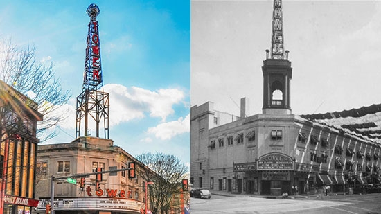Iconic Tower Theater Sign in Upper Darby Removed, Structure Deemed Unsafe