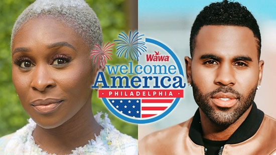 Wawa Welcome America Festival 2020 Virtual 6/28-7/4, 50+ Events; Jason Derulo, Cynthia Erivo July 4
