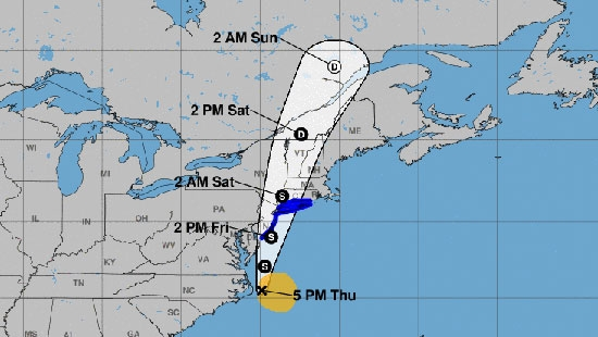 Tropical Storm Fay Marches Up Coast, Warnings; Pence/Biden Campaign in PA; Manayunk Home Invasion