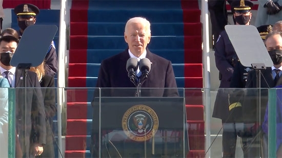 Joe Biden Inaugurated 46th President of United States; Philly Represented in Inaugural Celebrations