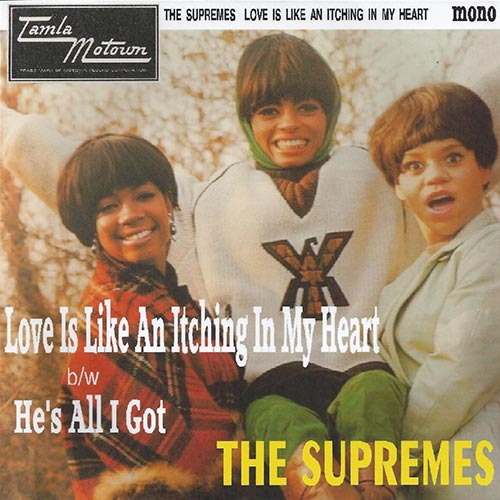 Diana Ross & The Supremes - Love Is Like An Itching In My Heart